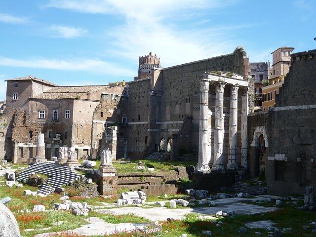 イタリア・ローマの遺跡