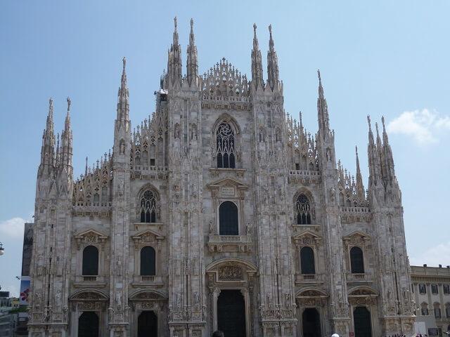 イタリア・ミラノ大聖堂