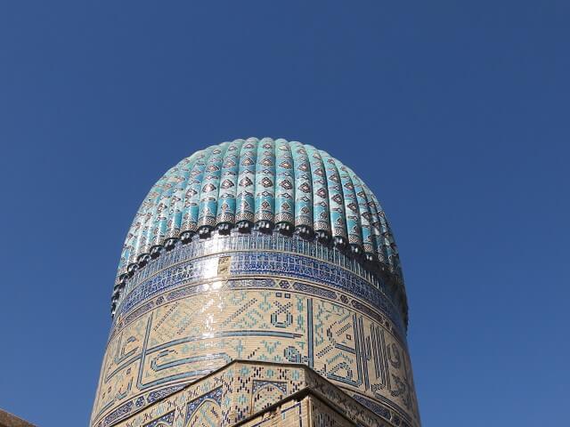 サマルカンドのビビハニム・モスクの上部