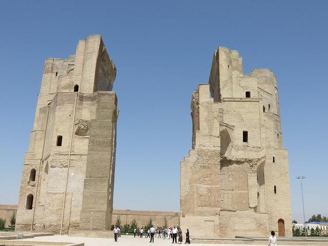 シャフリサブスのアクサライ宮殿