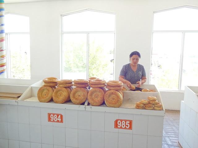 ウズベキスタンのパン