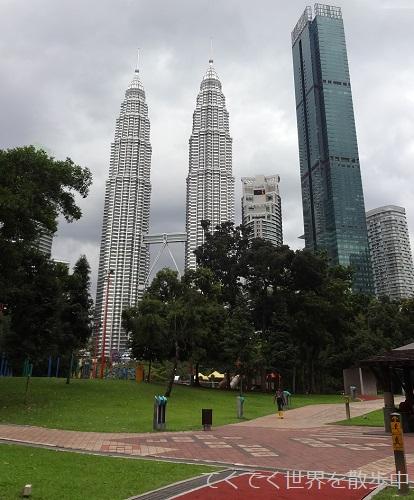 マレーシア・クアラルンプールのKLCC公園