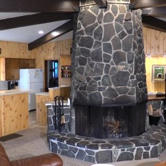 Two Person Kitchen Table Outdoor Lighting Octagon – Wayfarer Resort On The Mckenzie River