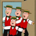 Barbershop quartet contest