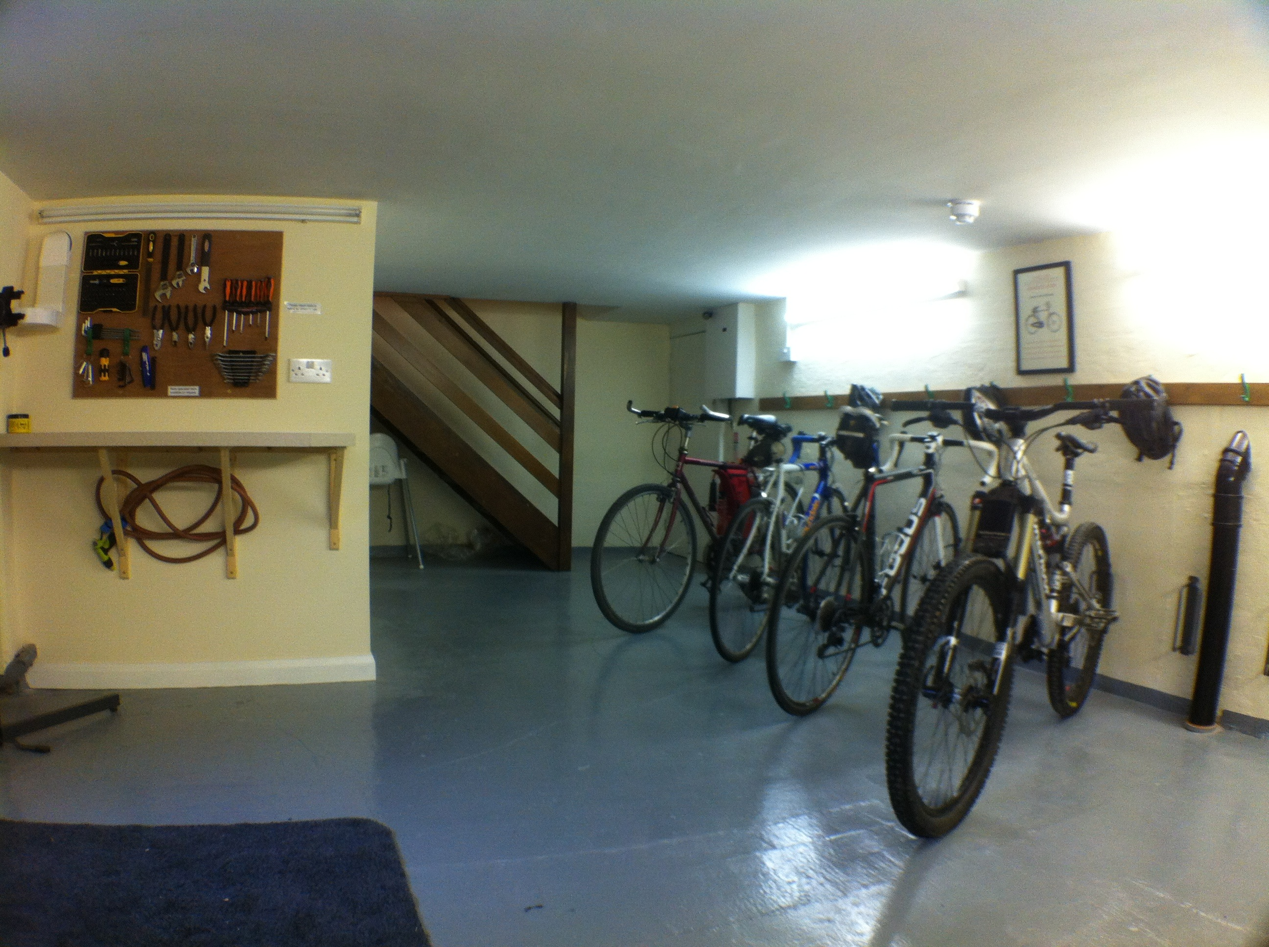 Secure indoor cycle storage for cyclists in Penrith