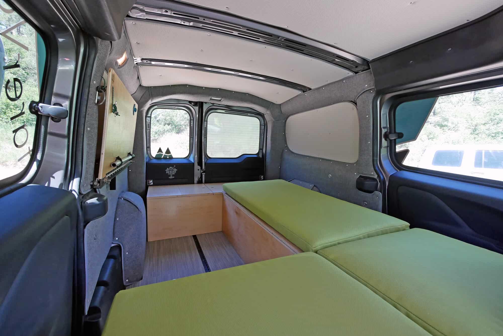 Camper Boxes with Custions  Wally Camper Van Kit  Wayfarer Vans