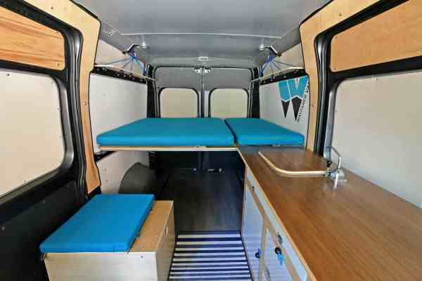 Dodge Promaster Van Camper Conversion - Year of Clean Water