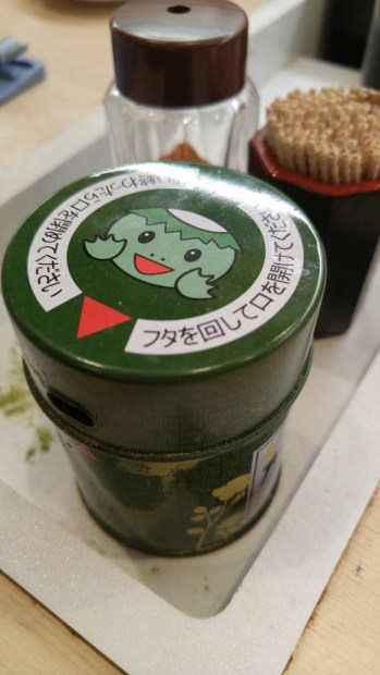 matcha powder to have tea