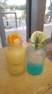 Jeju Hallabong Blender 한라봉 블렌더 and Jeju Sea Lemonade 제주 바다 레모네이드