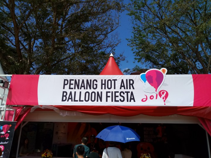 Penang Hot Air Balloon Fiesta and Chinese New Year