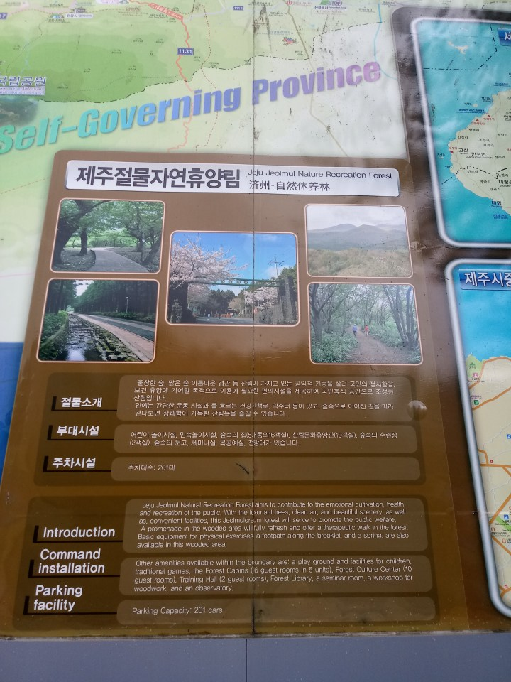 Jeju Jeolmul Recreational Forest 제주절물자연휴양림
