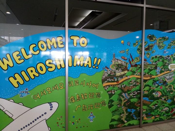 Getting around Hiroshima