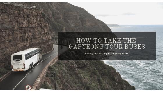 The Gapyeong Shuttle Bus