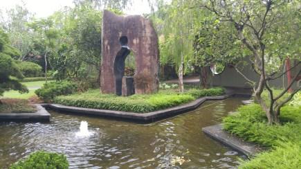 Diaspora or 离乡 found in the Chinese Heritage garden