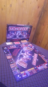 A Stranger Things Monopoly set
