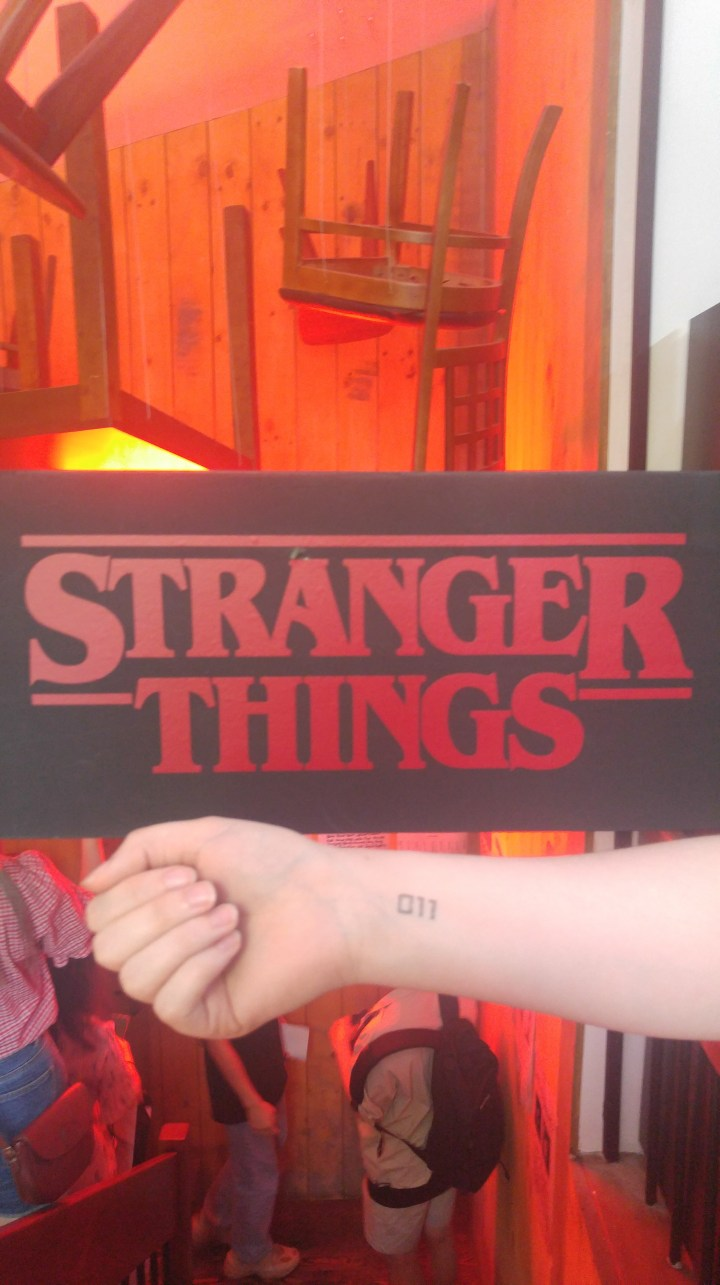 Stranger Things pop up