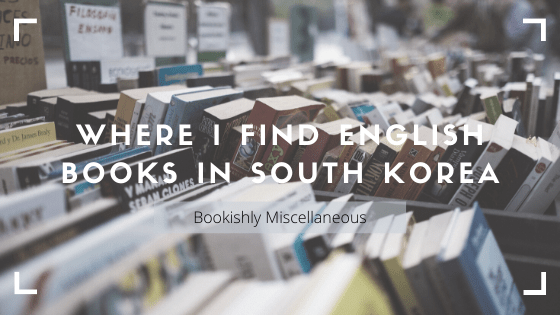 Where I find English books in South Korea