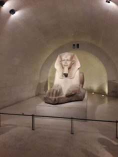 Grand sphinx Sully wing Lower ground floor Crypt of the Sphinx Room 338