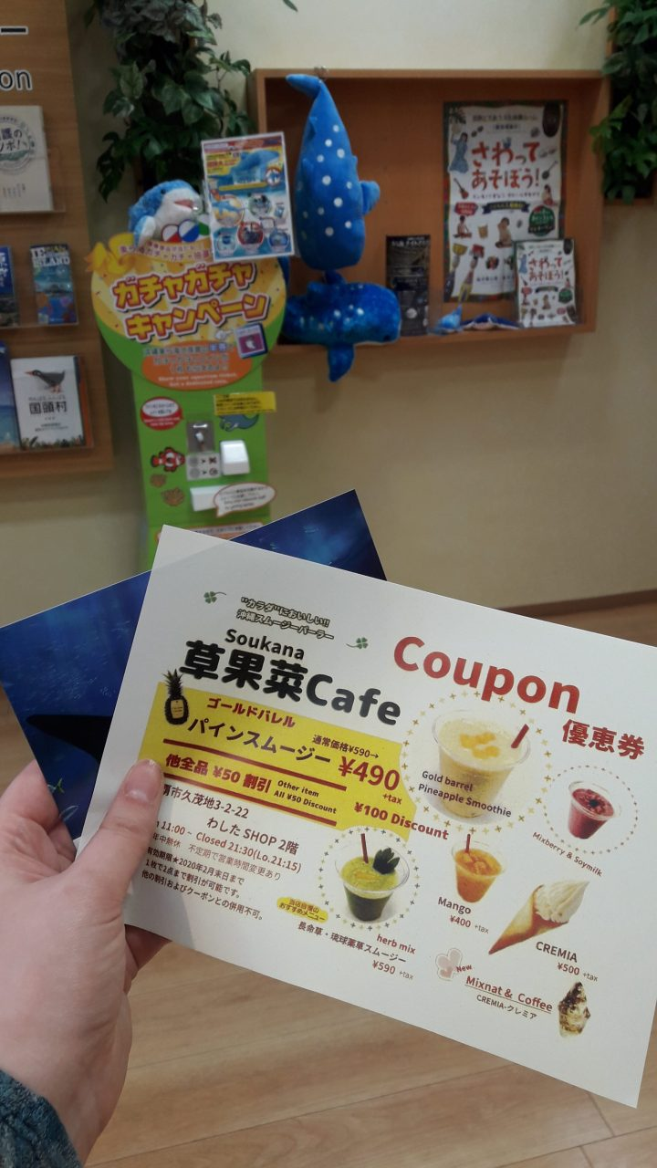UMICHURARA 沖縄美ら海水族館アンテナショップ うみちゅらら 国際通り店