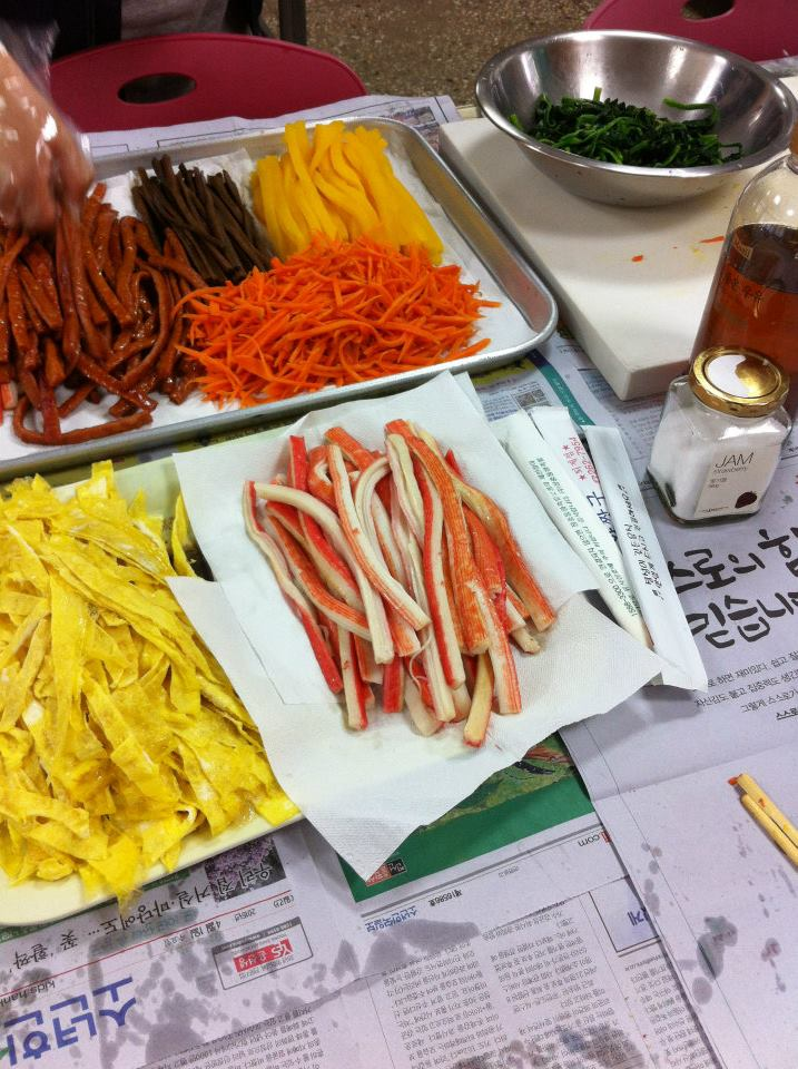 Branch school taught me to make kimbap
