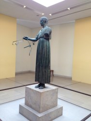 A remarkable discovery of a one-of-a-kind bronze statue