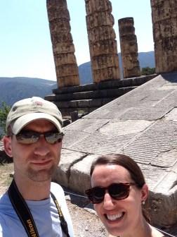 The ruins of Apollo's temple