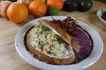 Garbanzo Bean Salad Sandwich