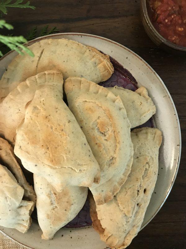 Vegan Chickpea Empanadas
