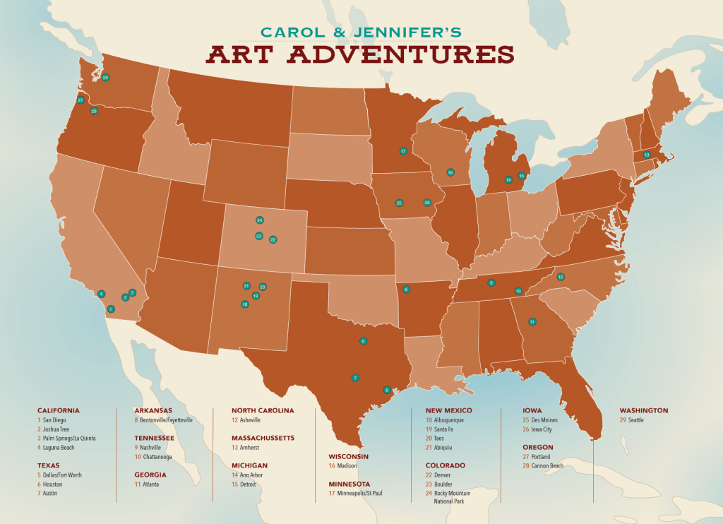 The Best Art Towns and Festivals in the U.S.