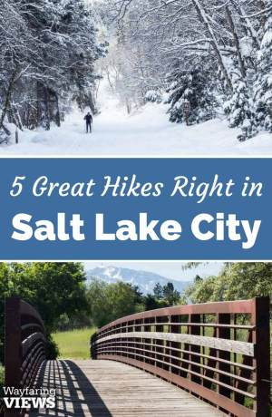 These 5 urban hiking trails in Salt Lake City offer the perfect balance of wilderness and accessibility. Go for great hikes in Salt Lake City