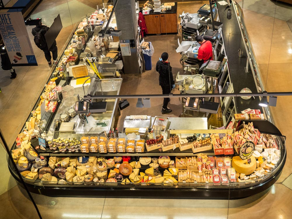 Harmons Grocery Store Cheese counter
