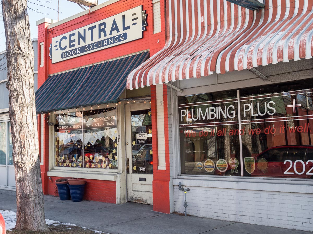 Central Book Exchange Salt Lake City