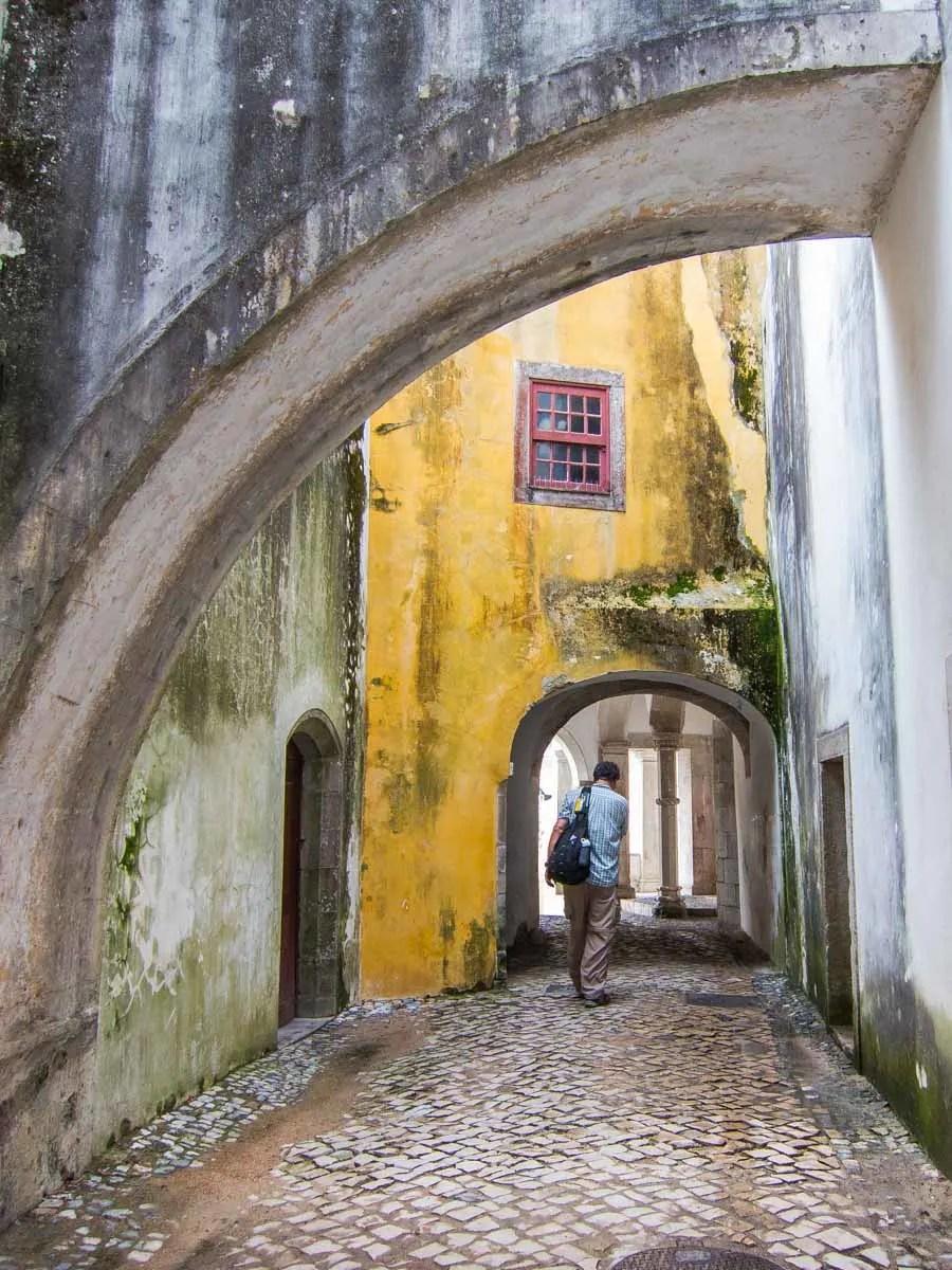 Urban Stroll with Flaneur in Sintra Portugal