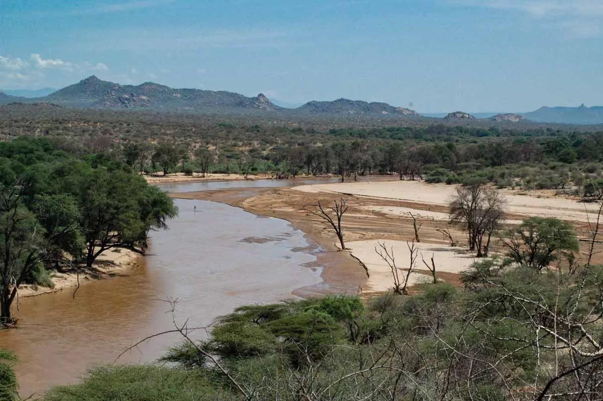 Central Kenya and Samburu Landscape- habitat of the Kenya lions
