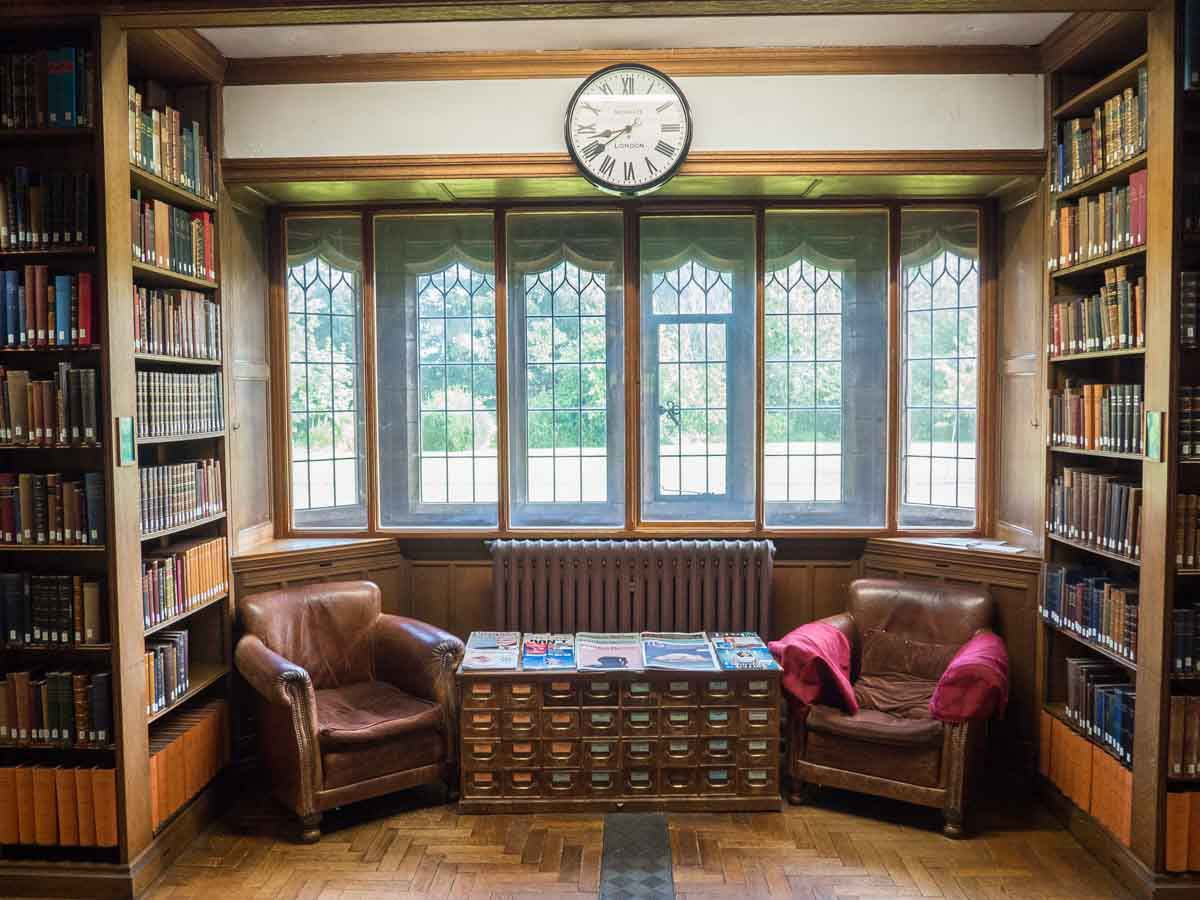 Gladstones Library Reading Room