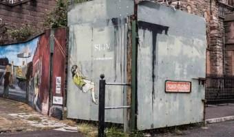 Shankill Gates Sectarian Belfast Murals