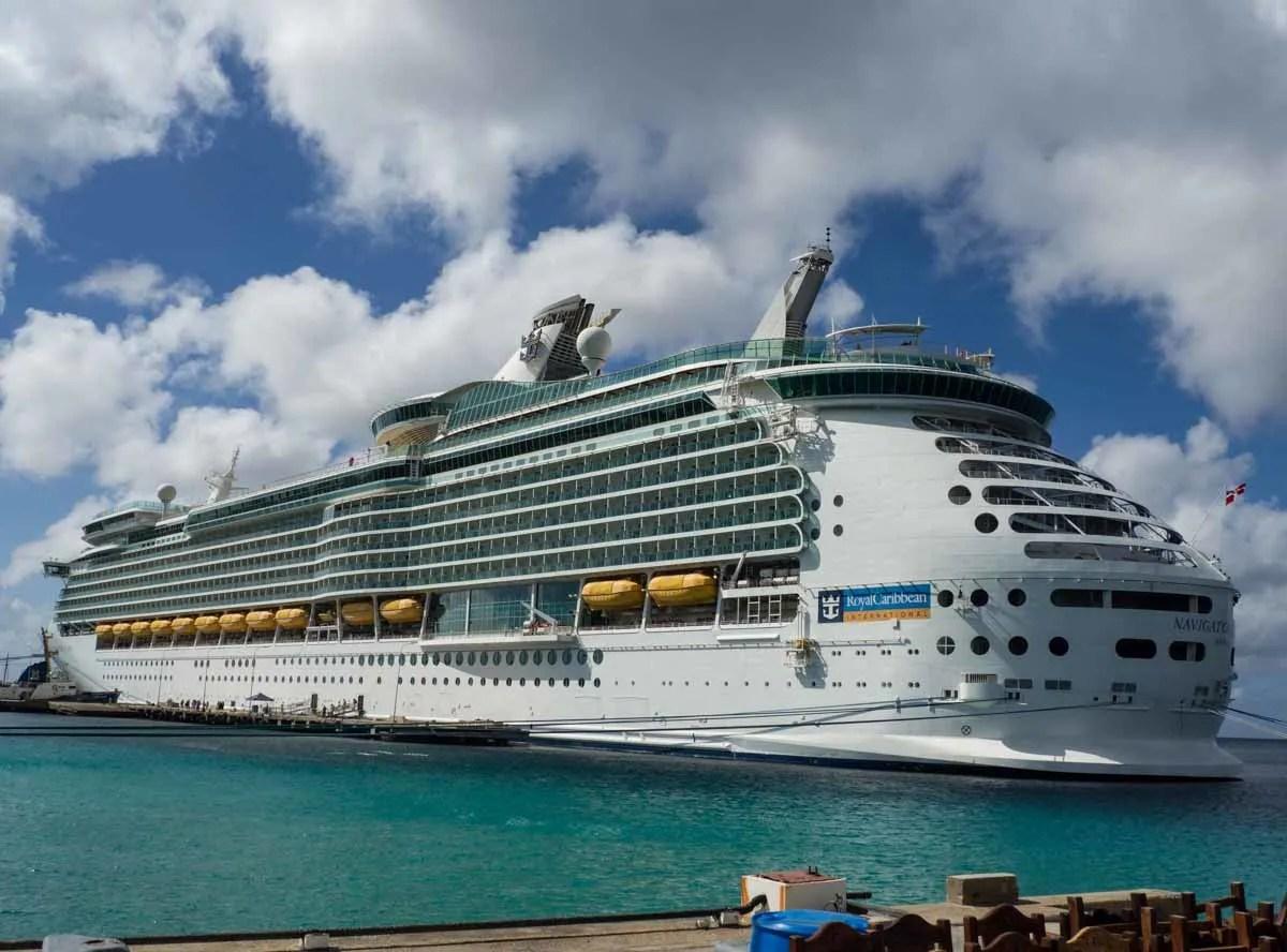 Bonaire Cruise Port Ship