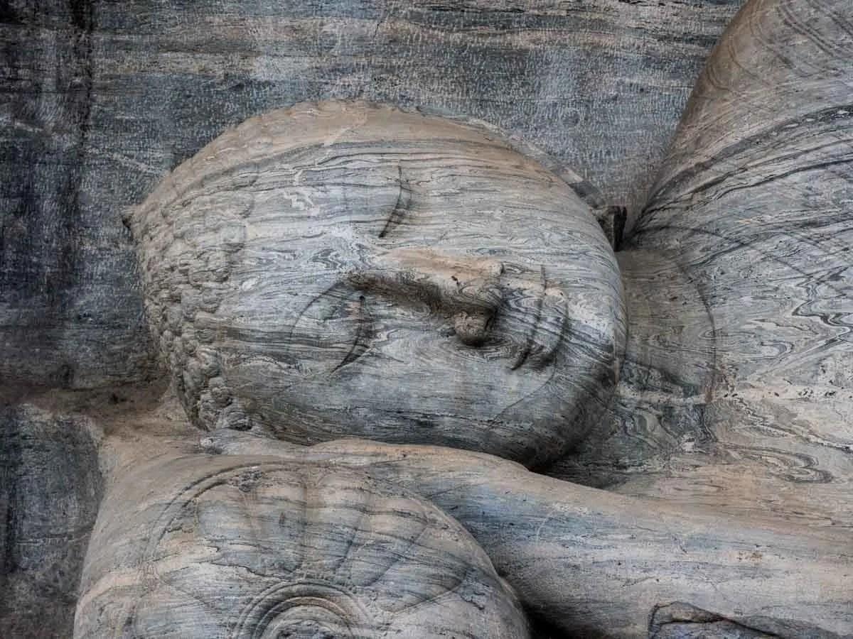 Gal Vihara reclining Buddha Polonnaruwa