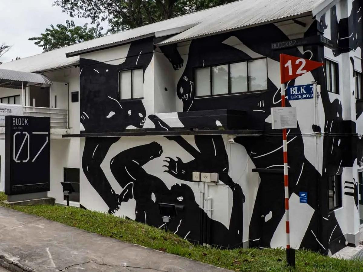 Gillman Barracks Singapore Art Galleries