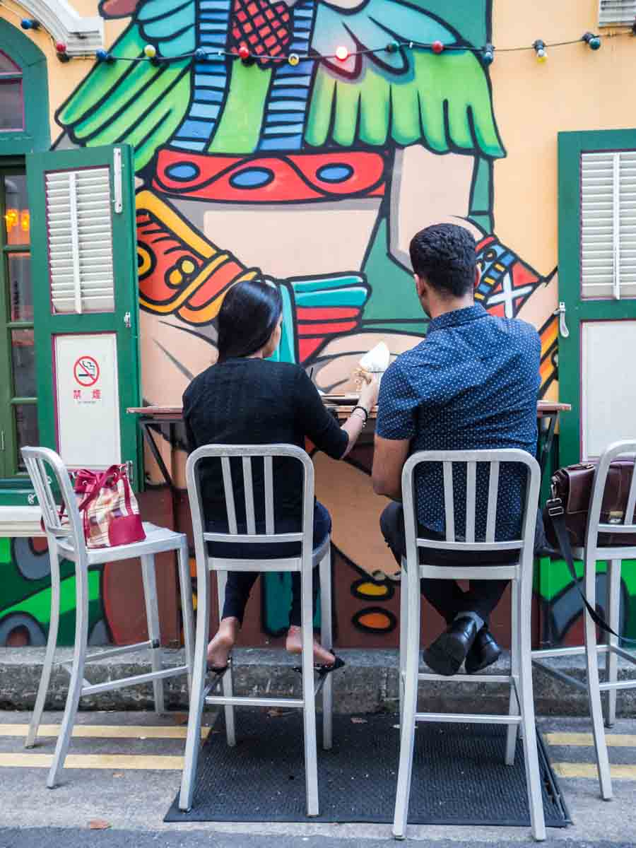Haji Lane Street Art Singapore