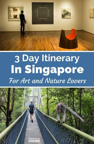 This three day itinerary for Singapore helps you explore the city's seamless integration of art and nature.