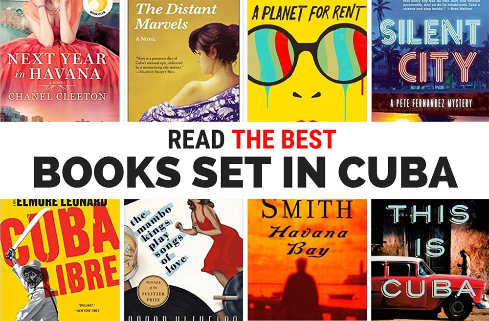 Fill up your TBR list with these 38 books set in Cuba and get inspired to go there.