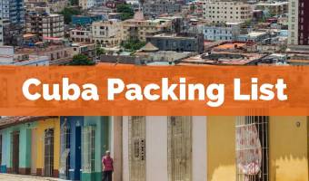 Cuba Packing List for What to Bring to Cuba
