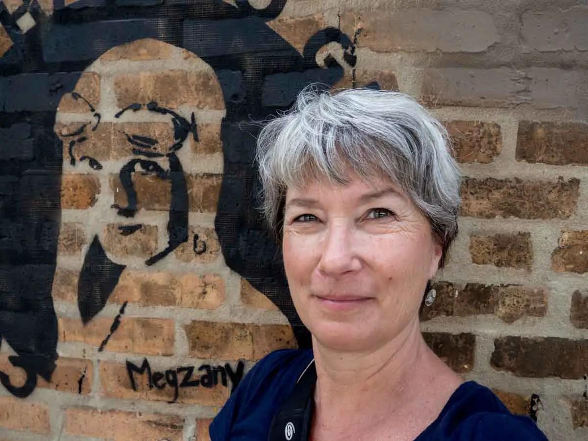 Courage has no Gender Megzany stencil