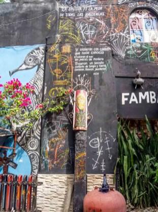 Callejon de Hamel Havana street art mural