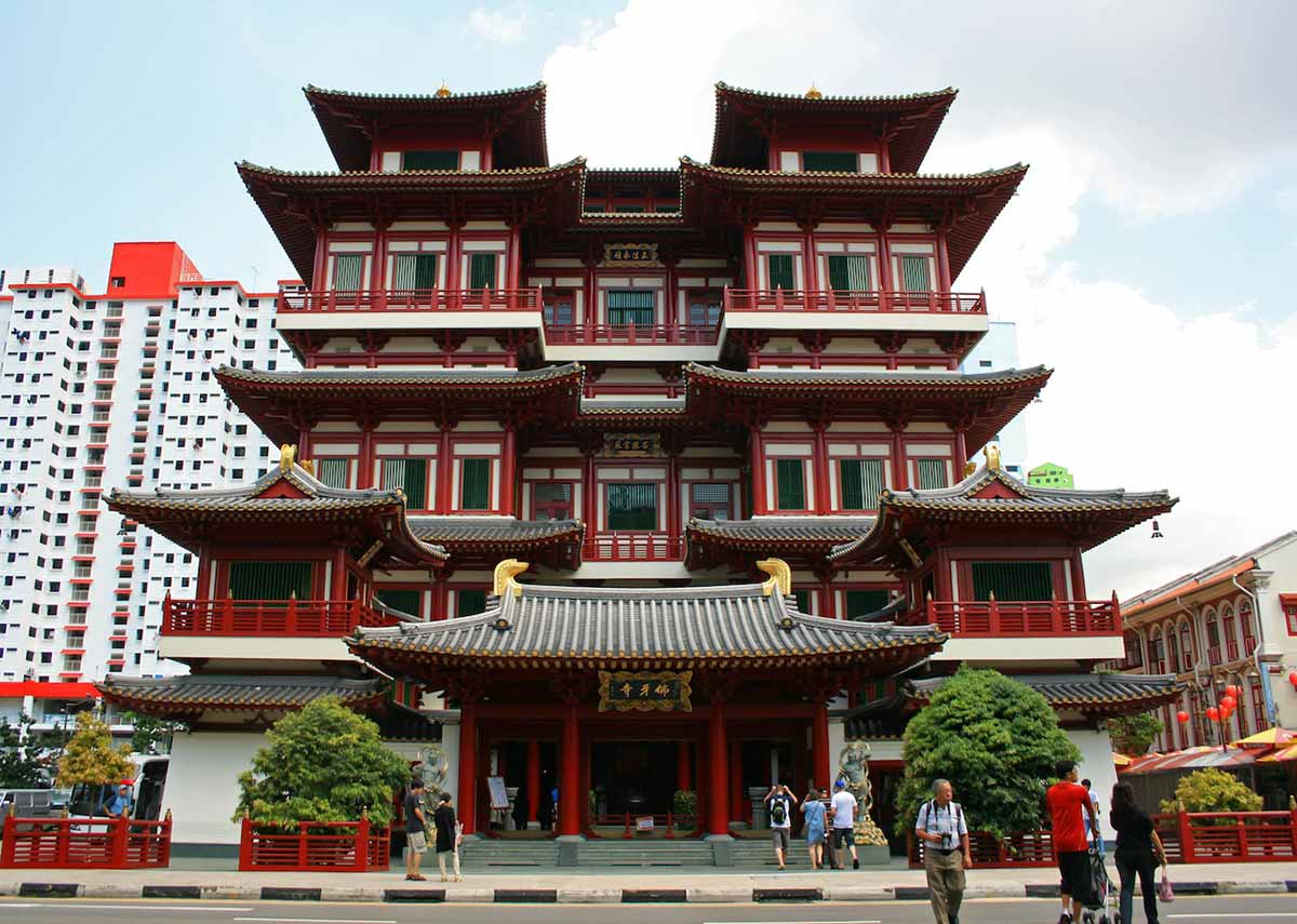 Places of Interesting in Singapore: Buddha Tooth Relic Temple