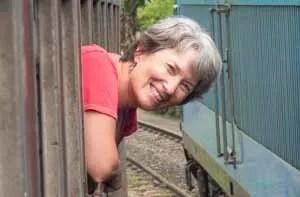 Carol Guttery profile pic train 300x
