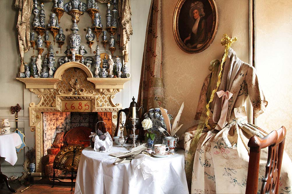 London Dennis Severs Bedroom