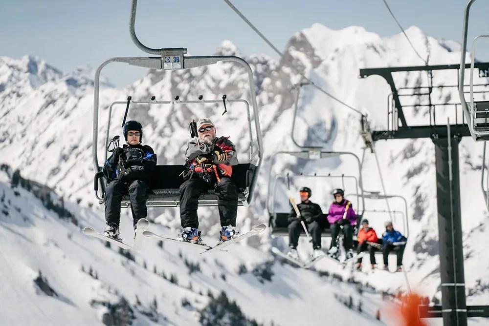 Ski Lift at Alta Ski Resort- Utah Discount Ski Tickets