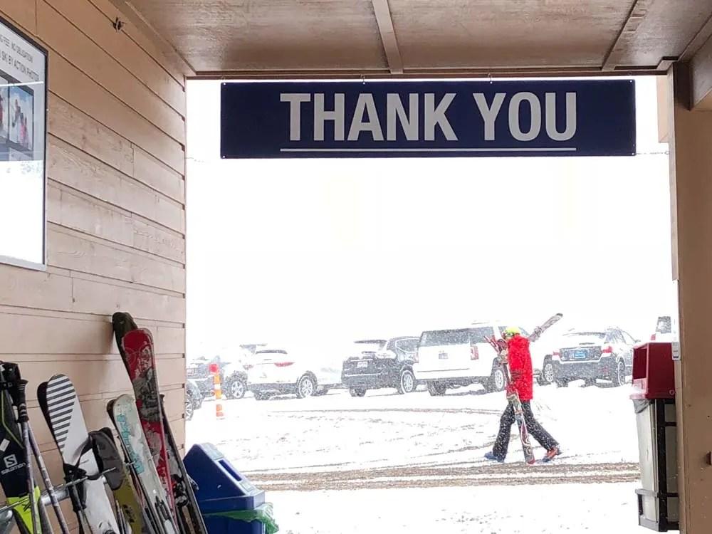 Salt Lake City Skiing: Thanks from Alta Ski Resort